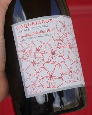 COQUELICOT SPARKLING RIESLING champagne in Los Olivos, CA