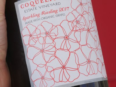 Coquelicot Sparkling Wine - Sparkling Riesling in Los Olivos, California