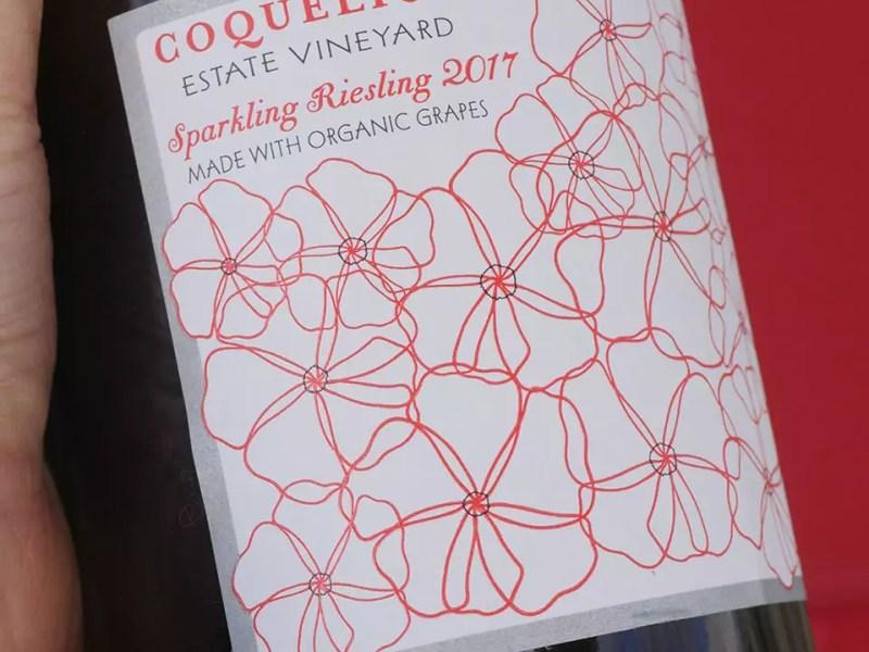 Coquelicot Sparkling Wine - Sparkling Riesling in Los Olivos, California