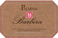 Palmina Sparkling Barbera in Santa Barbara County