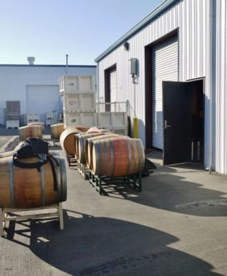 Harvest in the Lompoc Wine Ghetto