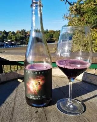 Solminer Sparkling Syrah - Santa Barbara Sparkling Wine