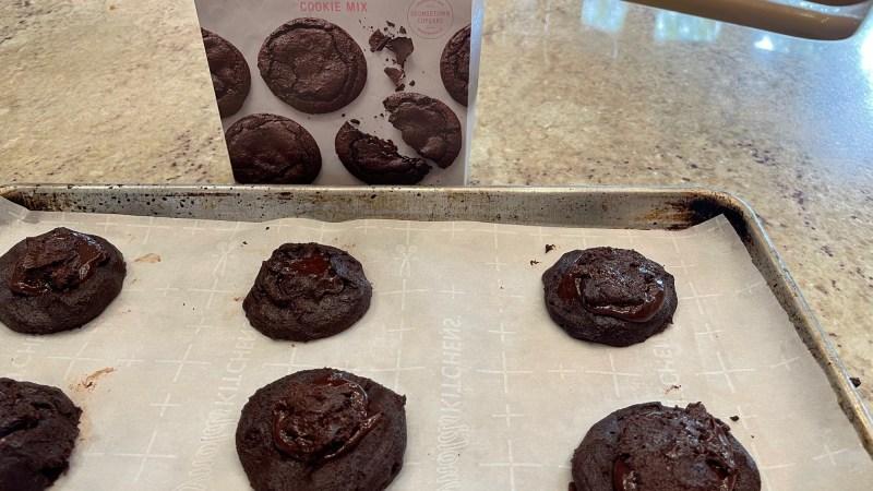 Georgetown Cupcake Cookie Mix, Gluten-Free Chocolate Ganache