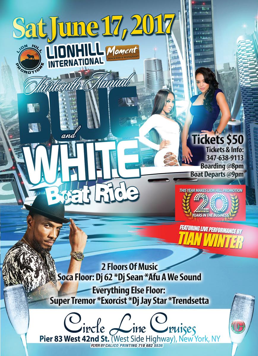 Lion Hill Blue N White Boat Ride Calicomixmachine Com