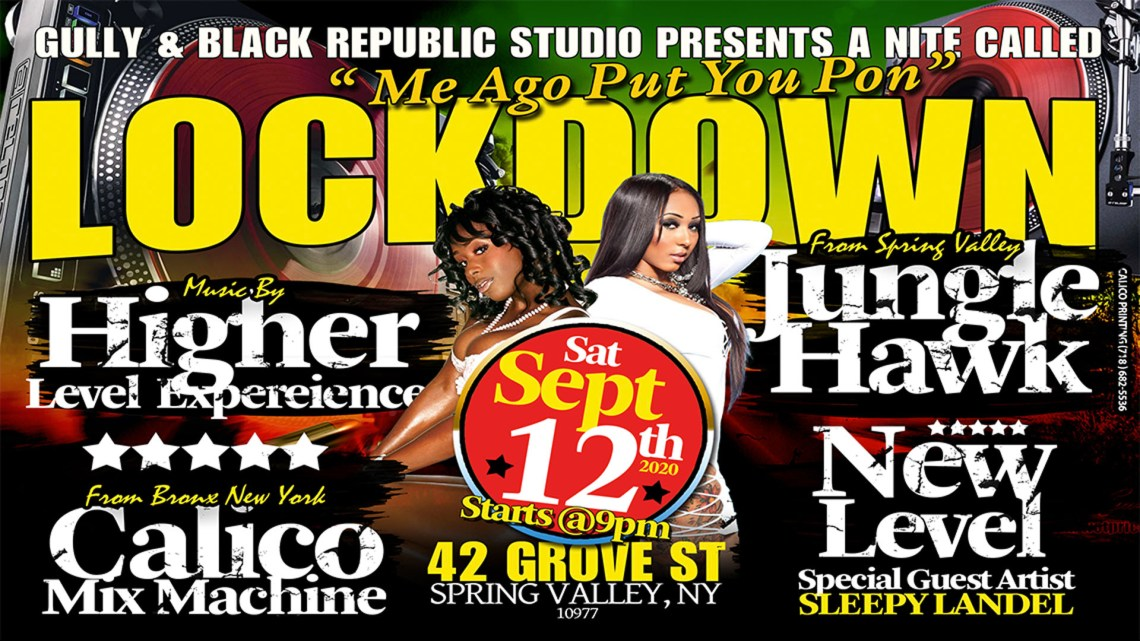 Gully presents Lockdown Sept 12, 2020