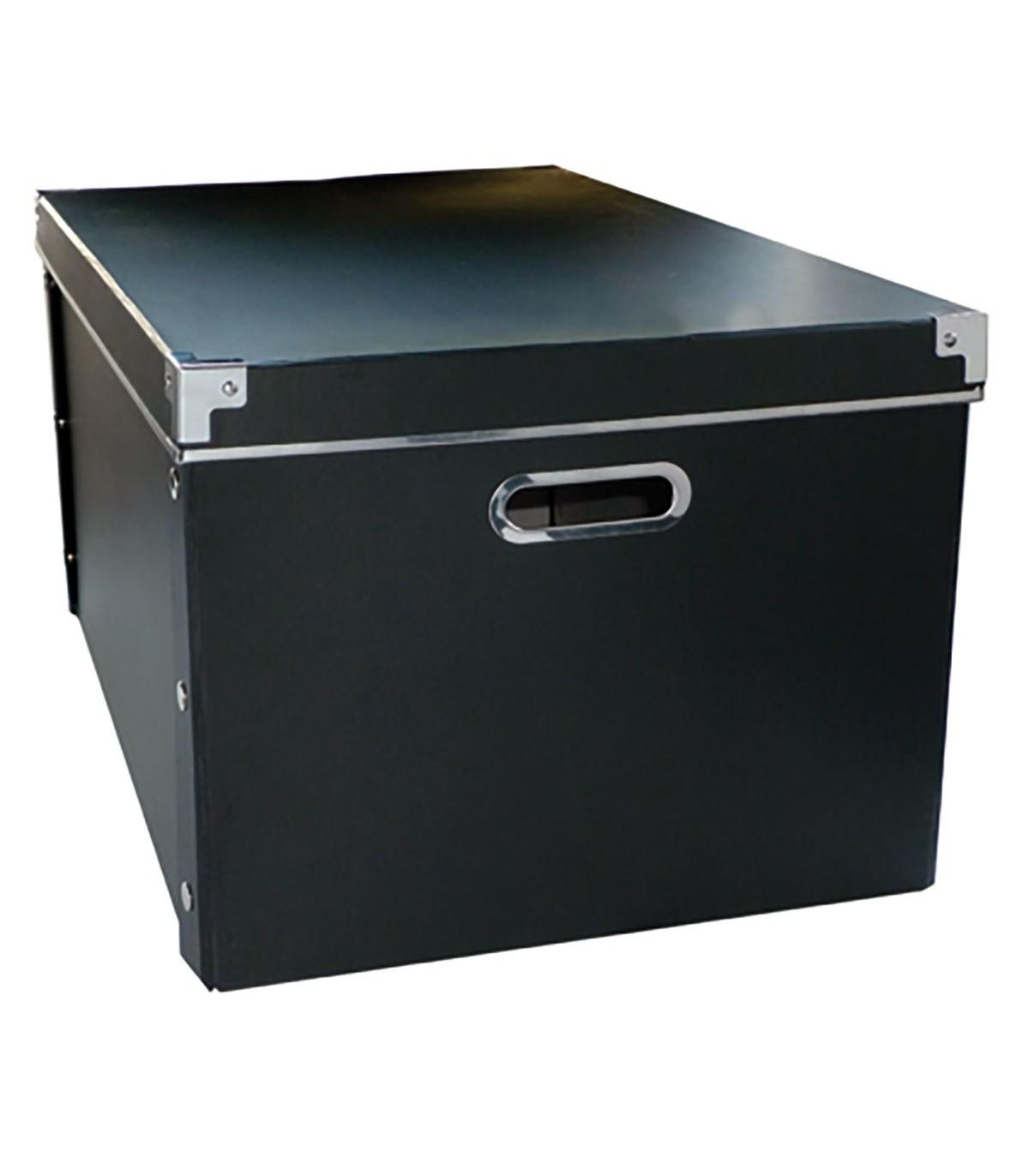 boite de rangement carton avec armature metal