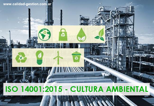 CULTURA AMBIENTAL - ISO 14001:2015