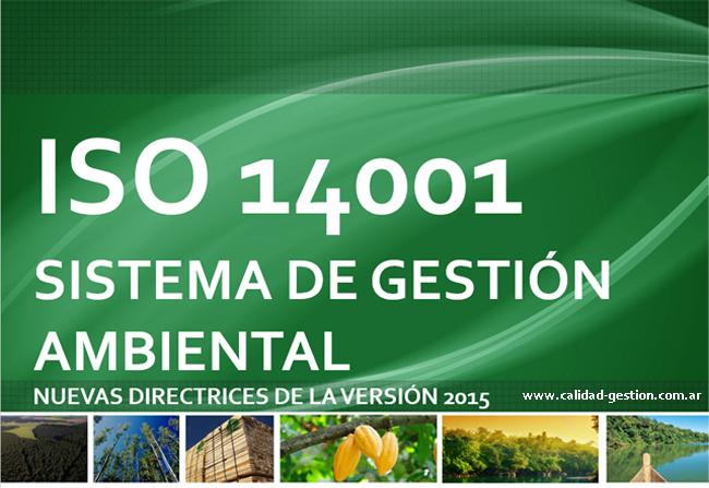 NUEVA ISO 14001 VERSION 2015