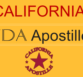 California FDA Apostille