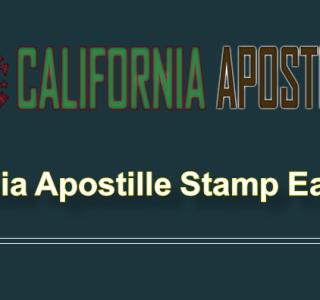 California Apostille Service