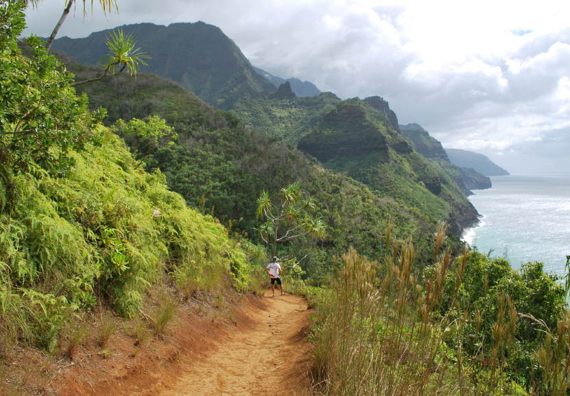 Image result for pic of hiking in hawaii