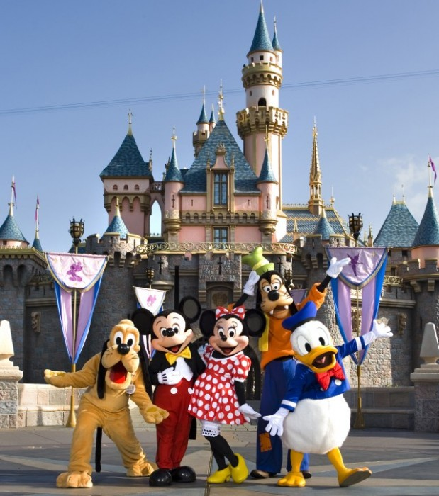 Disneyland Anaheim Ca California Beaches