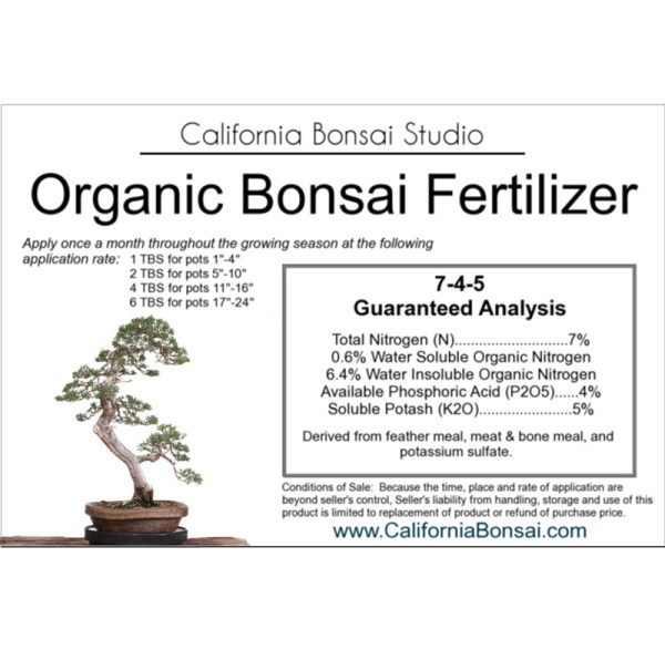 Bonsai Fertilizer