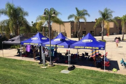 Protect your athletes with custom canopies
