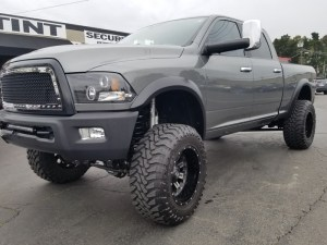 Gilroy Client Adds Ram Radio Upgrade and Sideview Camera System