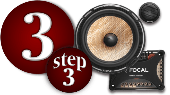 3 Stages to Better Car Audio: Stage 3 Speakers