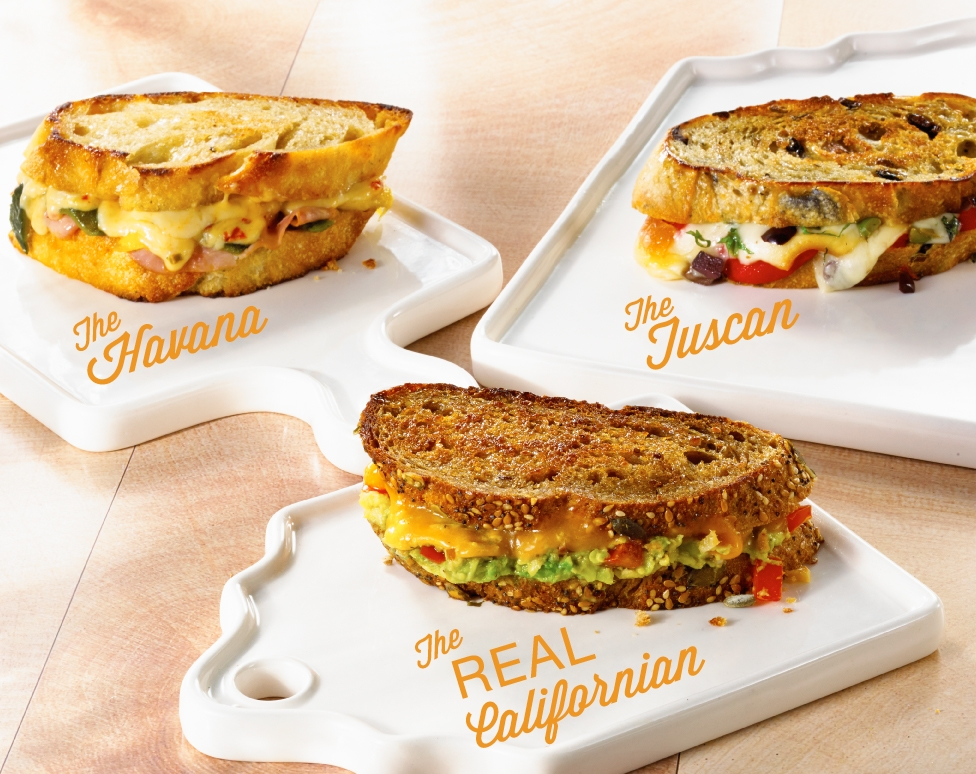 Grilled Cheese Sandwich, National Grilled Cheese Month, California Milk Advisory Board