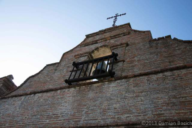 Mission San Antonio de Padua Bell Tower (photo by Damian Bacich)
