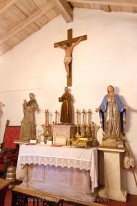 San Antonio de Pala Museum - St. Dominic, St. Francis, Virgin Mary
