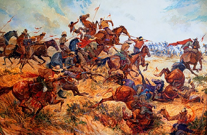 The Battle of San Pascual.
