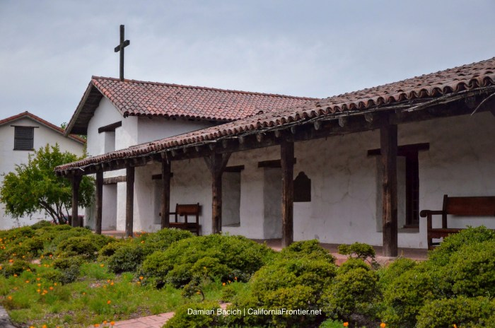 Mission San Francisco Solano. Photo by Damian Bacich/CaliforniaFrontier.net.