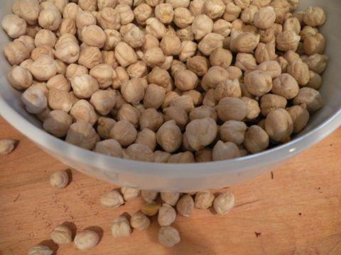 Garbanzo Beans or Chickpeas