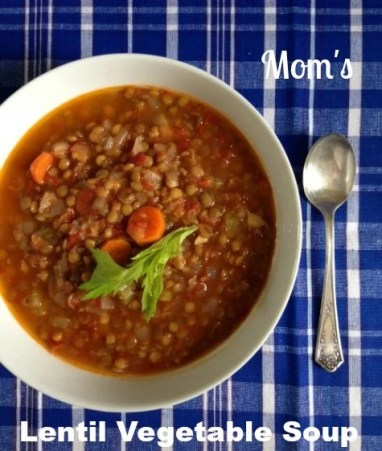 Mom's lentil soup