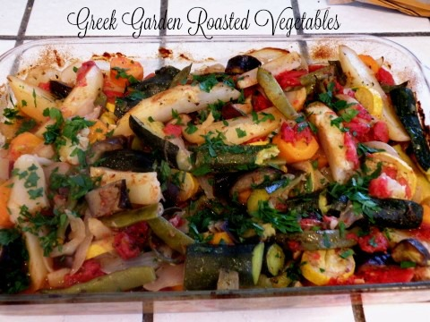Greek Garden Roasted Vegetables (1)