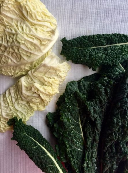 kale and savoy