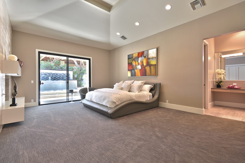 MASTER BEDROOM 1000px Extraordinary Home of the Week: La Quinta Contemporary