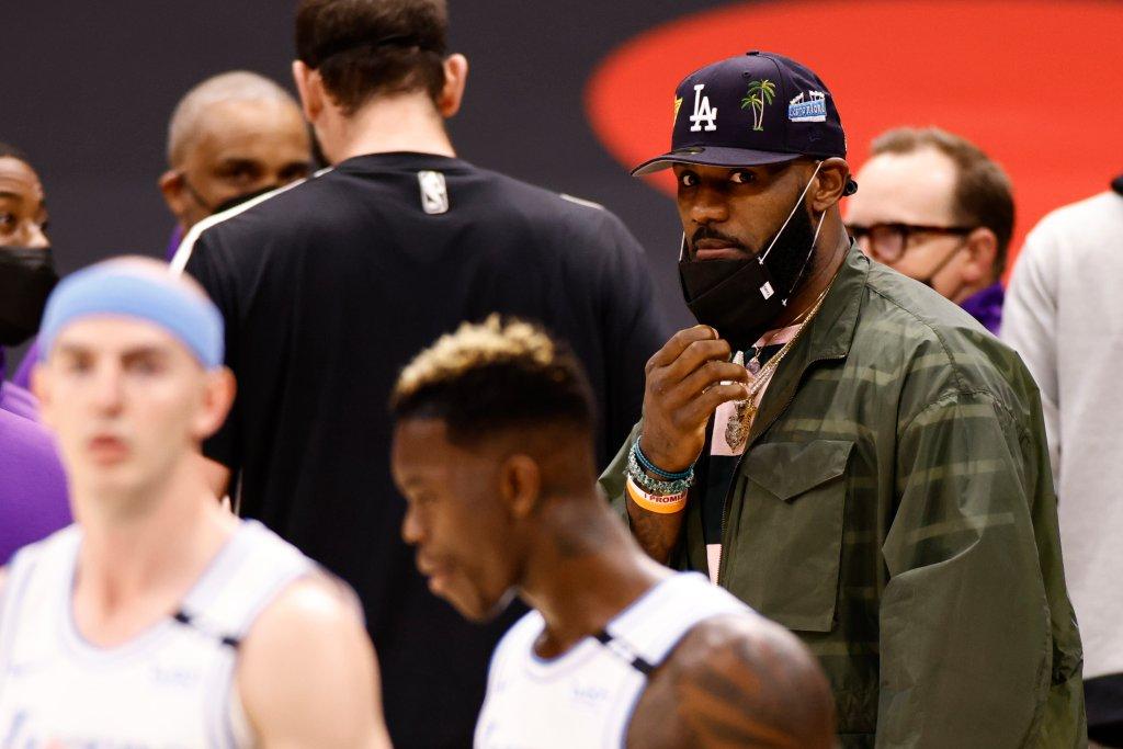Los Angeles Lakers v Toronto Raptors