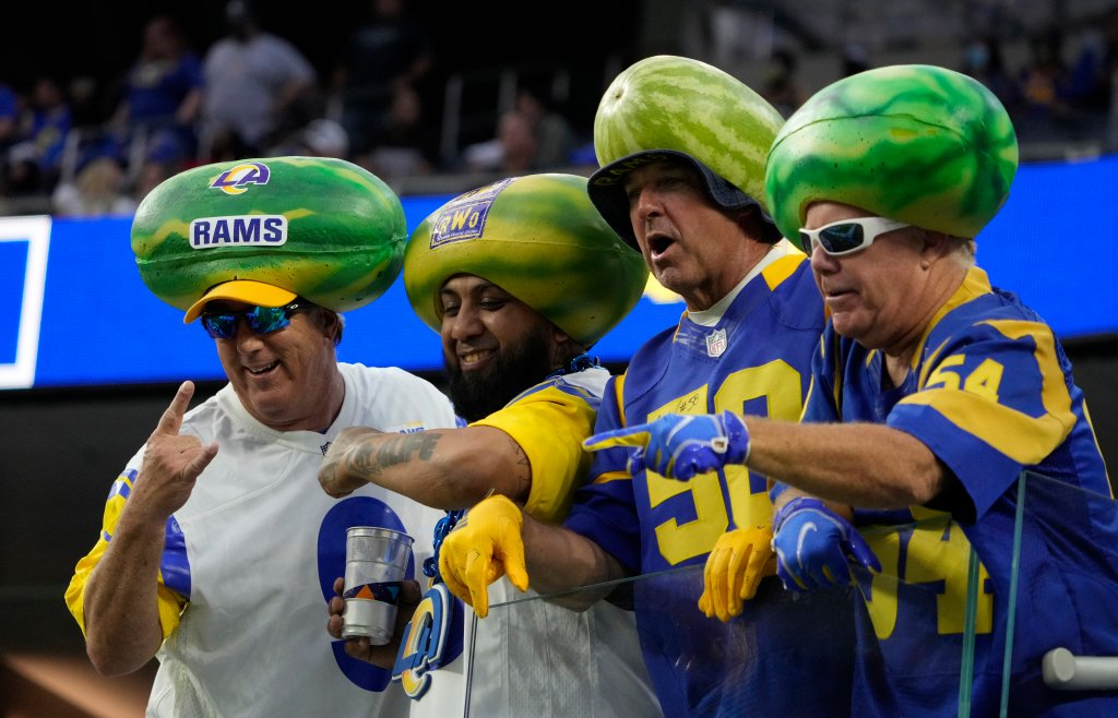 Los Angeles Chargers defeated the Los Angeles Rams 13-6 during a pre-season NFL football game at SoFi Stadium.