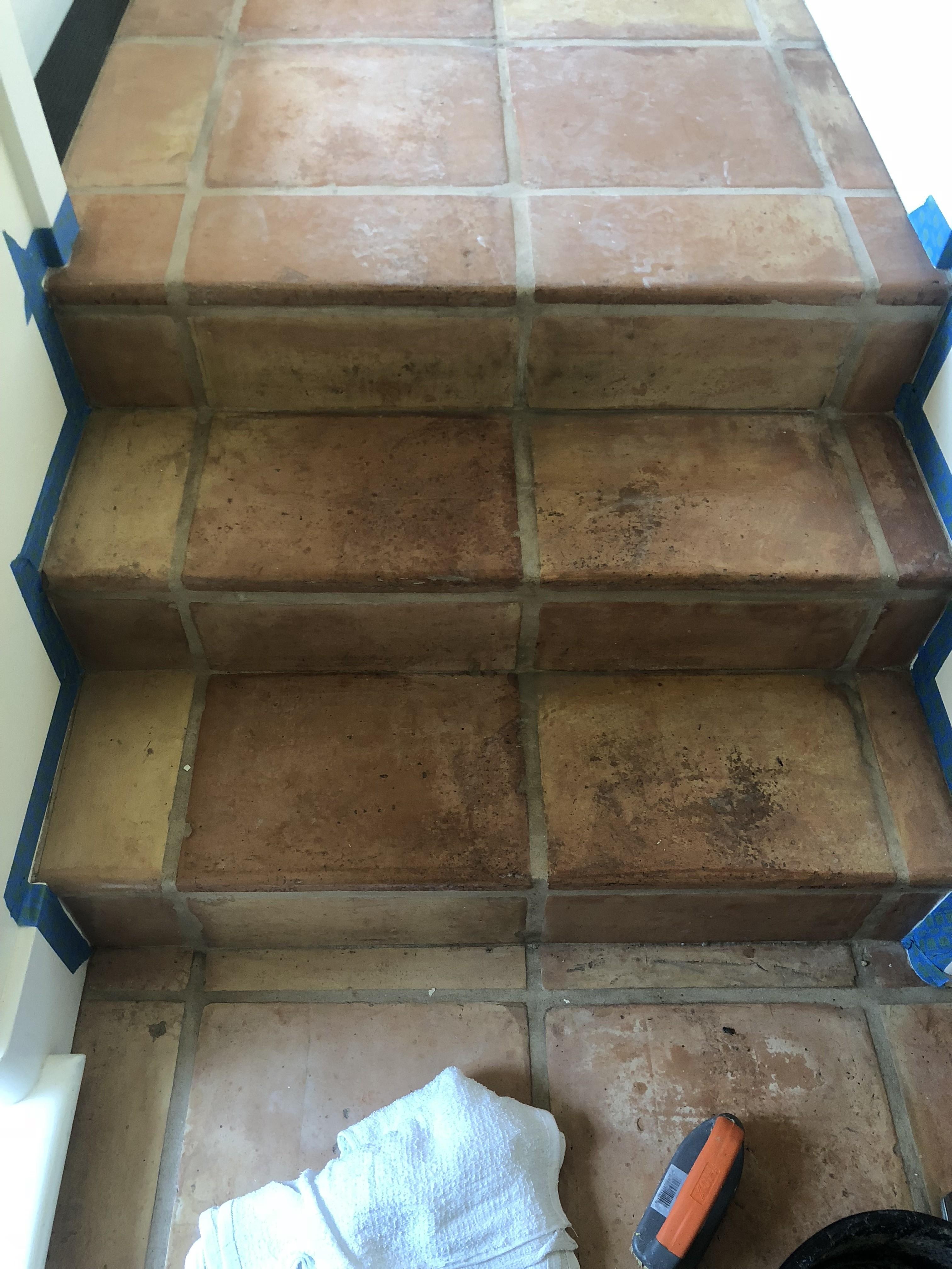 restore my saltillo tile floor