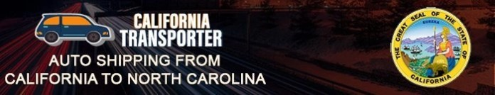 Shipping a Car from California to North Carolina