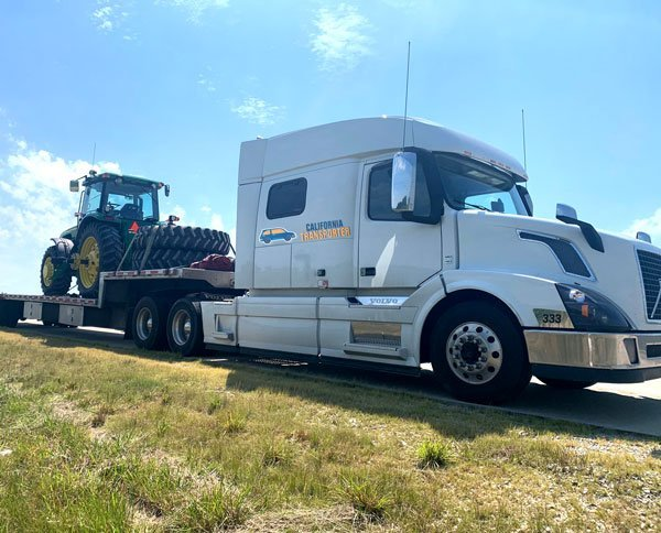 Heavy equipment shipping California to Missouri, Containerized Freight Hauling California to Missouri