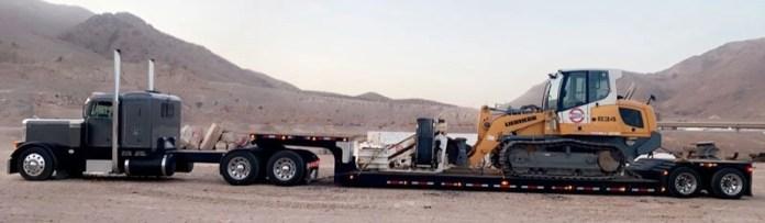 Heavy equipment shipping California to Nebraska, California to Nebraska farm equipment hauling