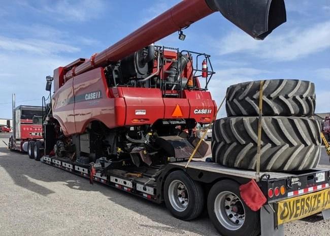 combine Heavy Equipment Transport and Tire Service in California