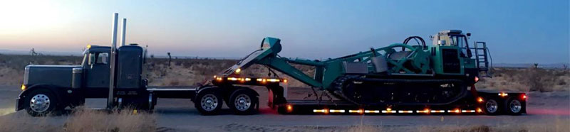Freight hauling services in California, Loads from California