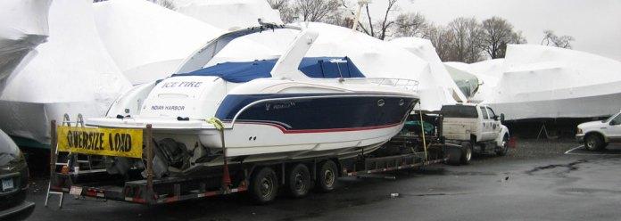 California Yacht transport services, Yacht transportation