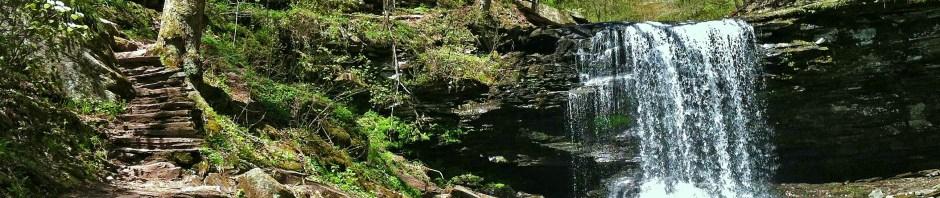Harrison Wright Falls (27'), Kitchen Creek