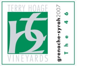 Terry Hoage vin Paso Robles Californien USA