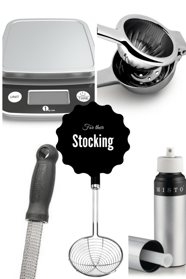 For Their Stocking | 2016 Holiday Gift Guide on CaliGirlCooking.com