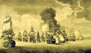 Combate de Tolón - Museo Naval