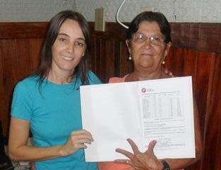 A iniciativa de Vilmara de Assis teve grande êxito e Terezinha que reencontra sua filha depois de 30 anos, foi na rádio mostrar o resultado