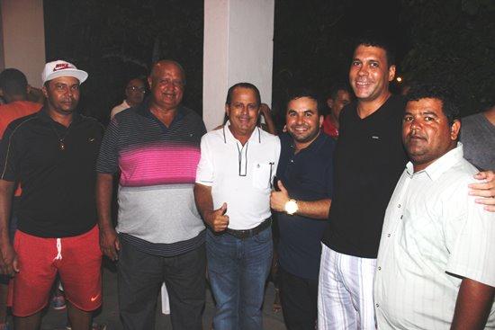 Regi e Tiago Miranda do PRP compareceram mas não garantiram apoio a Ismael para sua reeleição.