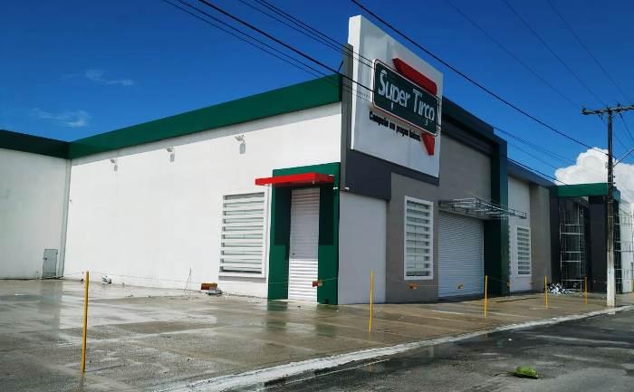 O terceiro supermercado do empresário está pronto para ser inaugurado