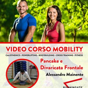 video corso mobility pancake divaricata frontale