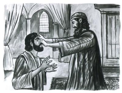 Image result for saul and Ananias