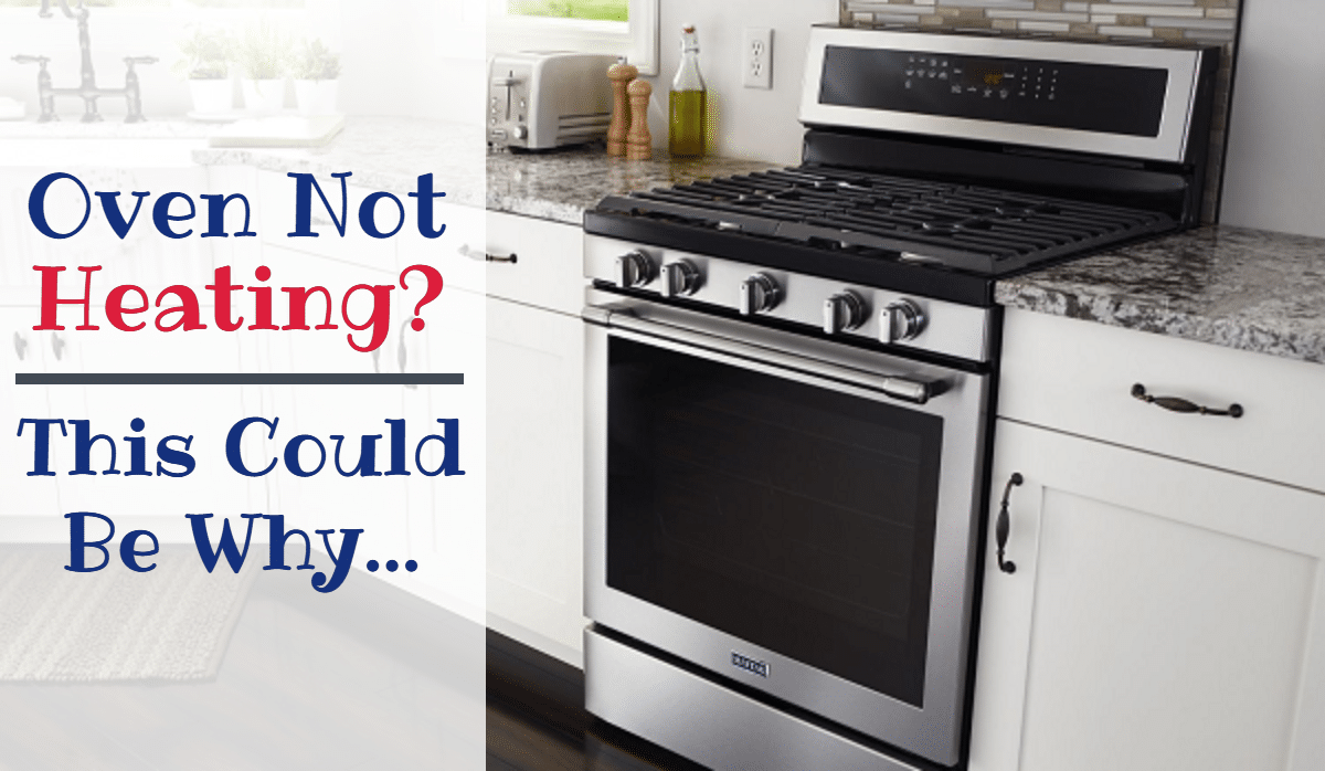 maytag oven not heating properly