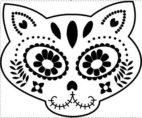 Dia De Los Muertos – Perler Bead Template